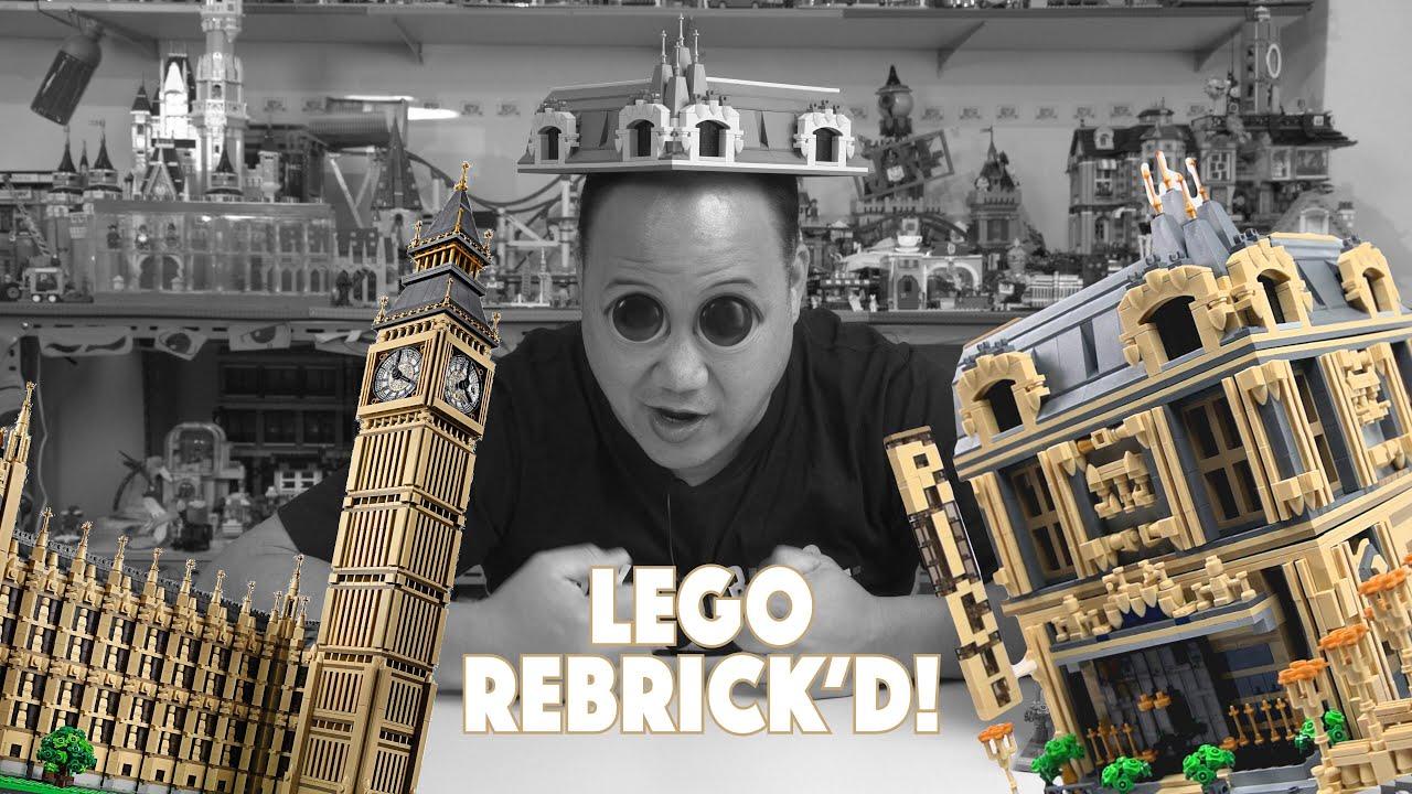 The Lounge | Alternative Rebrickable Lego build of Big Ben 10253