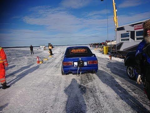 Bemarilla jäällä 346,82 km/h – Ennätykset paukkuu rikki