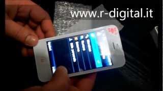 prova cect i5 dual sim mp3 mp4 radio recensione nuovo iphone 5 style