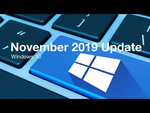 Windows 10 November 2019 update arrives this month on the 12th