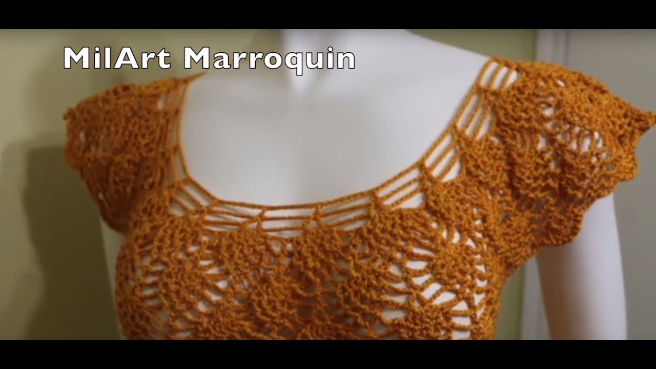 crochet blouse stitching video tutorial
