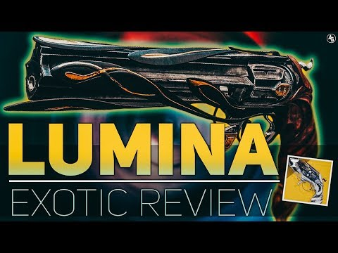 Lumina Exotic Hand Cannon Review (The First SUPPORT Weapon!!) | Destiny 2 Season of Opulence