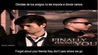 Enrique Iglesias - Finally Found You ft. Daddy Yankee SUB Ingles - Español