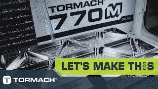 Machining Titanium on a Tormach 770M CNC Milling Machine with Harvey Tools