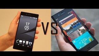 Sony Xperia  Z5 VS Sony Xperia XZ