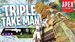 Tripletake Man Goes to Ranked Mode - PS4 Apex Legends