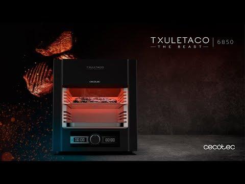 Grill de alta temperatura Txuletaco The Beast 6850 Cecotec