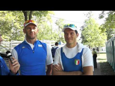 Gli argenti olimpici Sartori-Battisti dominano la semifinale