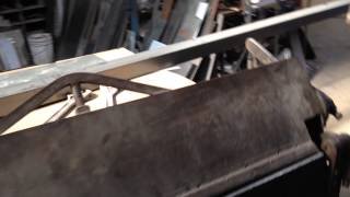 Bending stainless steel for use in residential gates Los Angeles