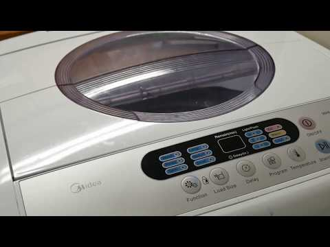 Part two Midea Mae50 washer. How to remove, clean lint from pump. Machine won't drain