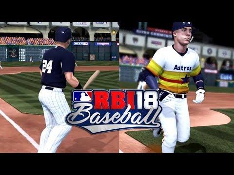 BASEBALL BACK ON XBOX ONE? RBI Baseball 18 Gameplay
