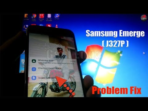 How to gsm unlock Samsung J3 Emerge SM J327P J320P from Sprint Boost