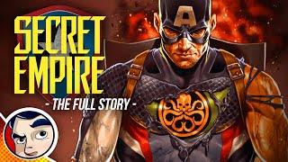 "Secret Empire ""Hail Hydra Captain America"" - Full Story | Comicstorian"