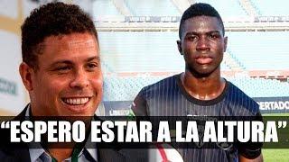 Stiven Plaza con el objetivo de triunfar en el equipo de Ronaldo