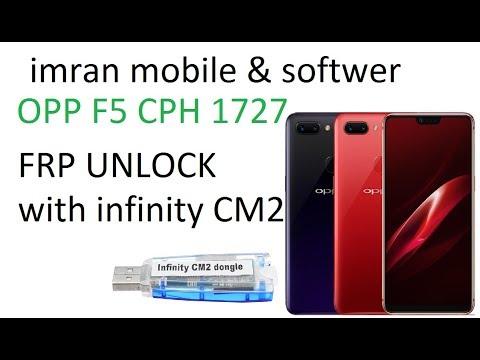 OPPO F5 CPH1723 MT6763A Reset FRP By CM2- MTK2 - смотреть