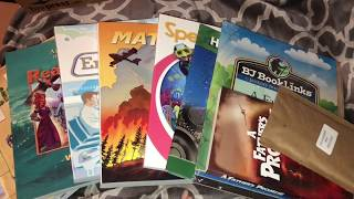 BJU Press 6th grade Curriculum Unboxing 2018-2019