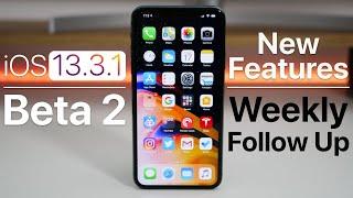 iOS 13.3.1 Beta 2 - Follow Up (2 New Features)