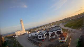 Freedom! Flamborough Lighthouse Fpv flight with a very cold wind blowing in from the sea.