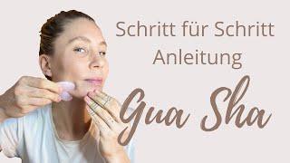 Gua Sha Anleitung - natürliches Face Lifting