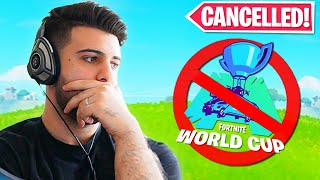 Epic Announces The 2020 World Cup is Cancelled! (Fortnite Battle Royale)