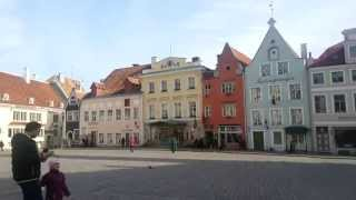 preview picture of video 'Town Hall Square Tallinn 2014'