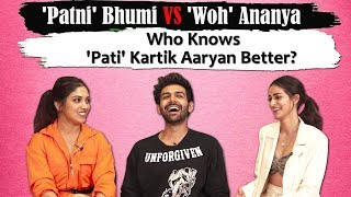 SHOCKING! Ananya Panday WANTS Kartik Aaryan | Bhumi Pednekar Reacts |How Well Do You Know Each Other