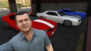 GTA 5 | Gauntlet Locations | Fun Walkthrough - Getting the 3 Muscle Cars
