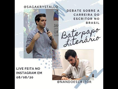 A carreira de escritor no Brasil -  Bate papo litera?rio entre Raphael Fraemam Fernando Aquino