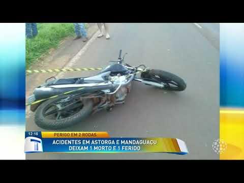 Acidentes em Astorga e Mandaguaçu deixam 1 morto e 1 ferido - Tribuna da Massa (15/02/18)