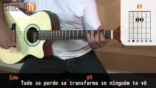 Amo Noite e Dia - Jorge e Mateus (aula de violão simplificada)
