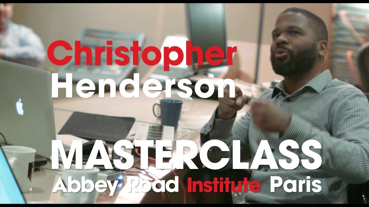 Master Class avec Chris