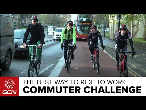 GCN'S Commuter Challenge – What's The Best Way To Ride To Work?