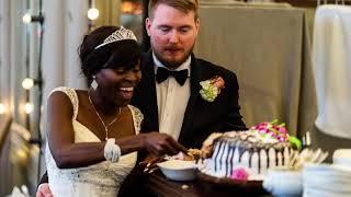 Interracial Couples 1st Anniversary, Wedding Photo Slideshow.