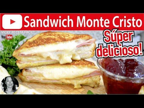 Receta Para Preparar Un Sadwich Monte Cristo
