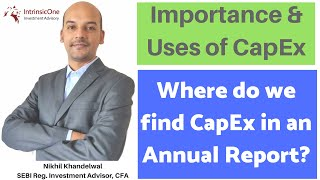 Where Do We Find Capital Expenditure In Annual Reports? | Learn The Basics