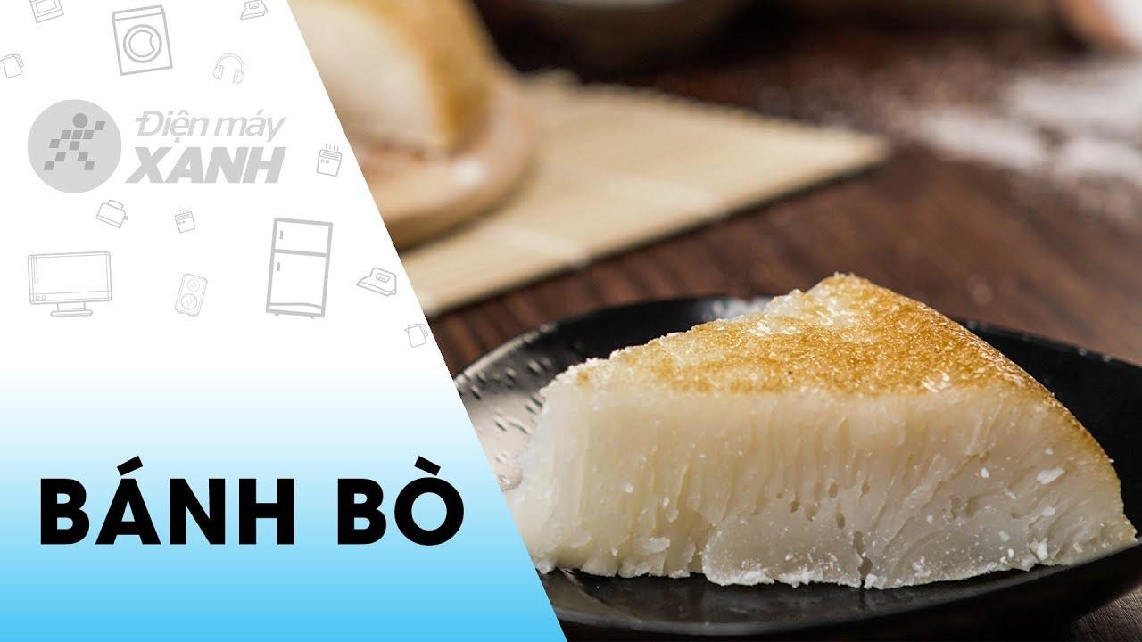 [Video] Cách làm bánh bò nướng bằng nồi cơm điện dễ làm mà cực ngon