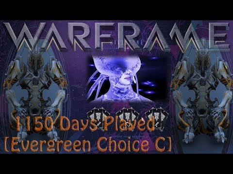 Warframe - 1150 Days Played Reward [Evergreen Choice C]