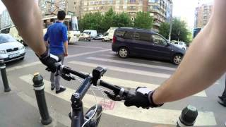 preview picture of video 'Just a normal day with my bike in Bucharest 20 05 2014'