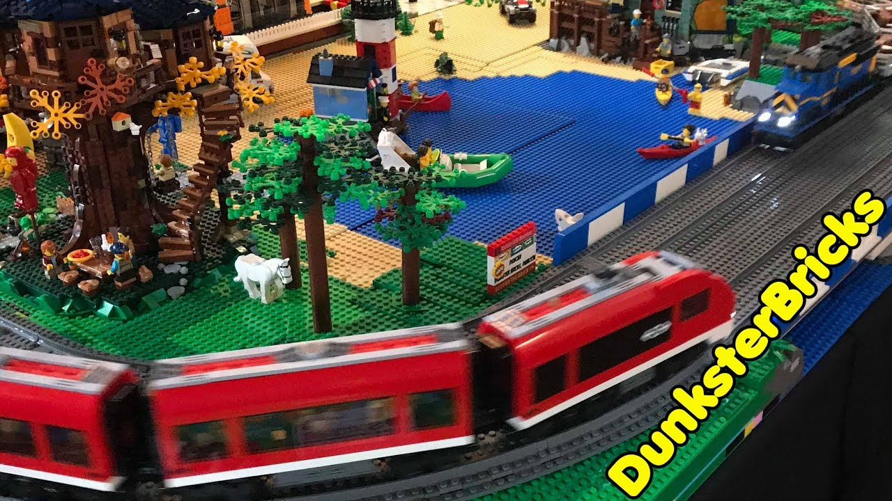 LEGO Railway Display for Oban Winter Bricks 2019