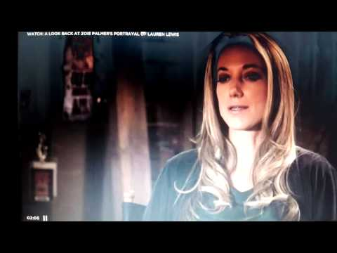 Zoie Palmer talks about playing Lauren Lewis