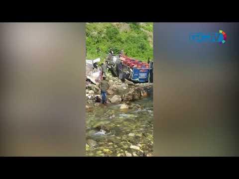35 dead after overloaded minibus plunges into gorge in Kishtwar