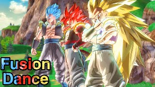 Using All The FUSION Dance Characters In Dragon Ball Xenoverse 2!