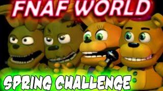 FNaF World - ALL SPRING CHARACTERS (FNAF Animatronics, FNAF Spring Animatronics)