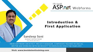 ASP.Net Tutorial for Beginners | Introduction to ASP.NET Webforms 01