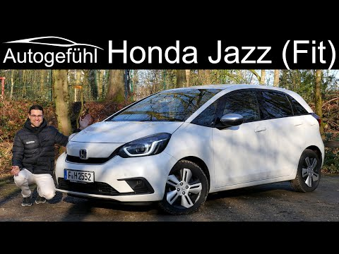 Small car, big surprise! all-new Honda Jazz e:HEV FULL REVIEW Honda Fit Hybrid 2021