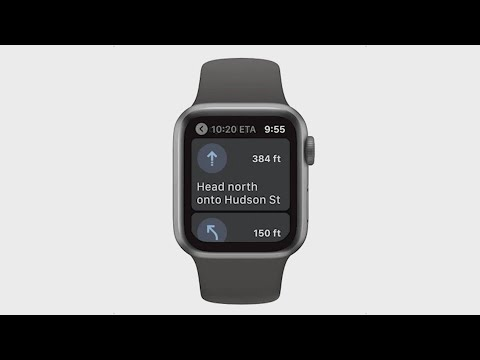 Thank You! Google maps is back on the apple watch