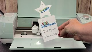{Giveaway Closed} Lets Make A Christmas Tag With Cricut Explore Air 2