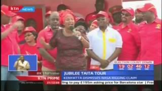 Jubilee dismiss rigging claims by NASA's Raila Odinga
