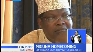 Unscripted twist as government deny NRM general Miguna Miguna access into the country