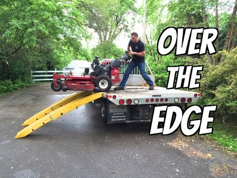 Lawn Mower Review —  ExMark Walk Behind  or Toro Grandstand?